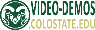 CSU Video Demos logo